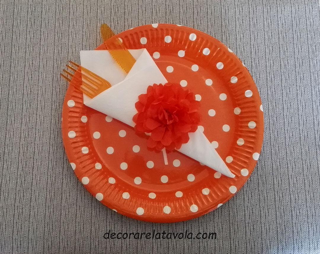 Piegare Tovaglioli Carta Natale tutorial portatovagliolo con fiore di carta | decorare la tavola