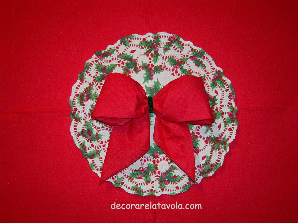 Come Piegare I Tovaglioli Di Carta Per Natale.Tutorial Come Piegare Tovaglioli A Fiocco Decorare La Tavola